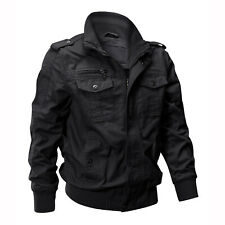 Tactical Men's Flight Jacket Army Field Combat Military Windbreaker Casual Coat