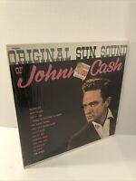 JOHNNY CASH LP ~ Original Sun Sound Of Johnny Cash Stereo , in Shrink, Nice!