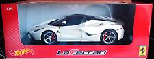 Ferrari LaFerrari In White 1/18 Scale Model 1:18