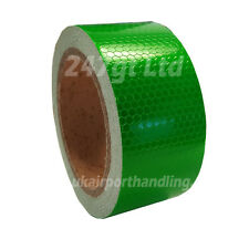 NEW HIGH INTENSITY GREEN REFLECTIVE TAPE 50mm x 10m