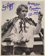 Bill Rodgers Signed 8x10 Photo 1975 78 79 80 Boston Marathon Winner Runner RAD