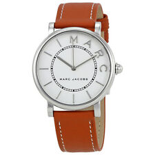 Marc Jacobs Roxy White Dial Ladies Leather Watch MJ1571