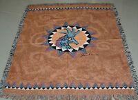 Southwest Kokopelli Tapestry Afghan Throw ~ Artist, Jason Brown