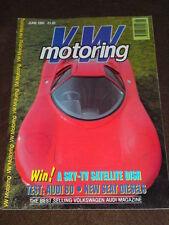 VW MOTORING - AUDI 80 - June 1990