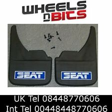 Seat mudflaps Universal fitting mudflaps for front or Rear Free UK Shipping Blue