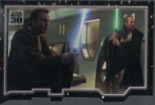 STAR WARS 30TH ANNIVERSARY TRIPTYCH MASTER AND APPRENTICE CARD PIECE 1
