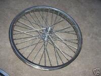 BICYCLE WHEEL  20 X 2.125 SEARS MURRAY SCHWINN  OTHERS