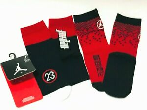 Nike Kids Jordan Jumpman High Crew Socks 2 Pack, Fits Kids SHOE SIZE 10C-3Y- New