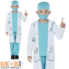 Child Costume Da Dottore Ragazzi Ragazze Ospedale CHIRURGO Uniforme Costume Outfit Set