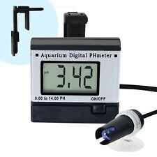Digitales pH-Meter 0.00 ~ 14.00pH Schwimmbecken Aquarium Teich Wassertester
