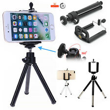 Apple iPhone Universal Mini Tripod 360° Rotating Mobile Camera Clip Stand Holder