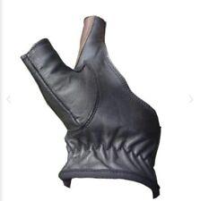 Black Archery Left & Right 2 Finger Hand Bow Glove Adjustable.