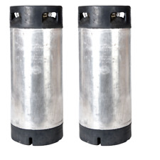 2 Pk 5 Gallon Pin Lock Kegs Reconditioned - Homebrew Beer & Coffee - Ships Free