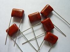 100pcs 100V 105 J 1uf 1000nf 1000000pf P10 CL21 CBB metal film capacitor