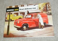 Austin A35 5 CWT Delivery Van Brochure 1956-1957 UK Market