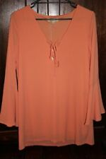 EVERYBODY TALKS - Ladies size small peach bell sleeve dress BNWT RRP $59.95.