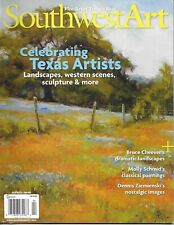 Southwest Art Magazine Texas Artists Bruce Cheever Landscapes Classic Paintings
