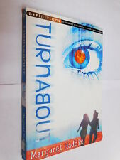Turnabout by Margaret Haddix PB young adult sci-fi novel of age reversing