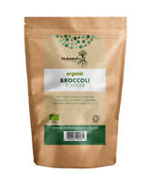 Organic Broccoli Powder - Raw | Freeze-Dried | Superfood Vegetable | Green Juice