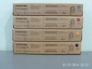 New Genuine Toshiba T-FC505U  Toner Set