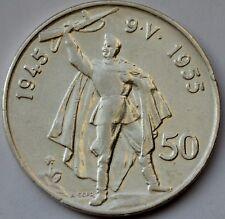 Czechoslovakia 50 Korun, 1955,  10 Years - Liberation