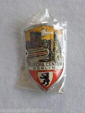 "Vintage Europa Center Berlin Stocknagel Souvenir Hiking Medallion 1 1/2"" x 1"""