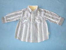 Pumpkin Patch Gorgeous Little Boys Striped Shirt, Size 3-6 Months
