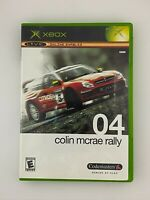 Colin McRae Rally 04 - Original Xbox Game - Complete & Tested