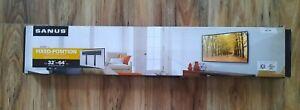 "Sanus - Super Slim Fixed TV Wall Mount for Most 32"" - 64"" TVs - Black BLL2-B1"