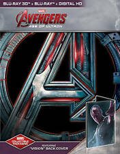 Avengers: Age of Ultron 3D Steelbook (Blu-ray, Only @ Best Buy) Vision Edition