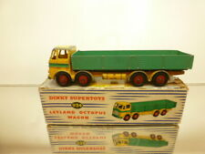 DINKY TOYS 934 LEYLAND OCTOPUS WAGON - YELLOW L19.0cm - FAIR CONDITION IN  BOX