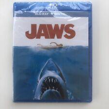Jaws [Blu-ray + Digital] Starring Scheider, Dreyfuss, Shaw Movie Video New