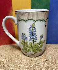 Georges Briard Victorian Gardens Texas Bluebonnet Coffee Tea China Mug