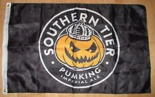 Southern Tier Brewing Cool Banner Pumking Flag Label Art craft beer brewery