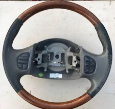 OEM Ford Leather /Wood Steering Wheel  F-250 F-350 EXCURSIONS Navigator Lincoln