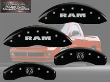 2006-2010 Dodge Ram 1500 Front Rear Black MGP Brake Disc Caliper Covers Ramhead