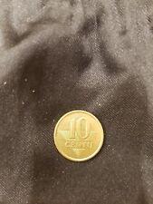 Lituania 10 Centavo 1998 International Moneda ( 10 Centu )