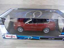 Maisto 1/18 - Audi RS4 cabrio  rot