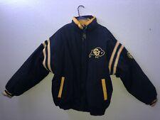 Vintage University of Colorado Buffalo Mens Parka Jacket large/extra L no hoodie