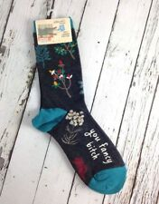 Blue Q Ladies Funny Crew Socks You Fancy B***h  Size 5-10 UK