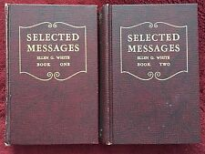 Ellen G White Duo: Selected Messages Book One ~ Selected Messages Book Two SDA