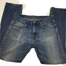 American Eagle Outfitters Mean Jeans size 31x30 Slim Straight Medium Wash Denim