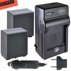 BM NP-FV100 2X Battery & Charger For Sony HDR-TD30V,XR150,XR155,XR160,XR260V