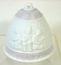 Lladro Christmas Bell Porcelain Ornament 1987