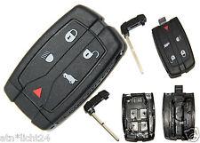 Fernbedienung Gehäuse mit Rohling Schlüssel Land Rover 2 TD4 LR2 S SE HSE 2006-