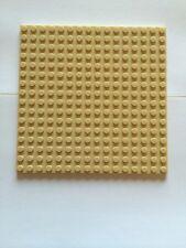 "Lego New x1 Plate 16x16 Tan Base Plate 5""x 5"" Roof Floor Sand 16 X16 Bricks"