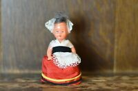 Fabulous VINTAGE Miniature National Costume Doll - Only 7cm Tall