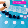 Silicone Ear Tunnel Plug Mold  - 10mm 12mm 14mm 16mm  18mm Earrings Resin Mould