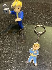 Fallout 4 Vault Boy Key-ring Back Pack Hanger Lot
