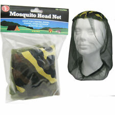 Mosquito Head Net Camping Fishing Hiking Army Mesh Hat Insects Bug Bee Repellant